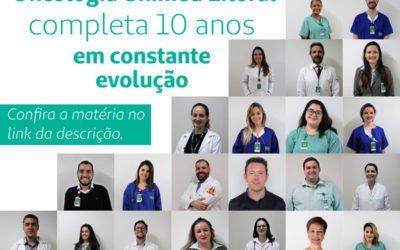 Serviço de Oncologia da Unimed Litoral completa 10 anos em constante evolução